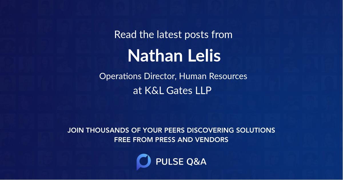 Nathan Lelis