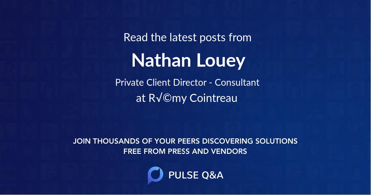 Nathan Louey