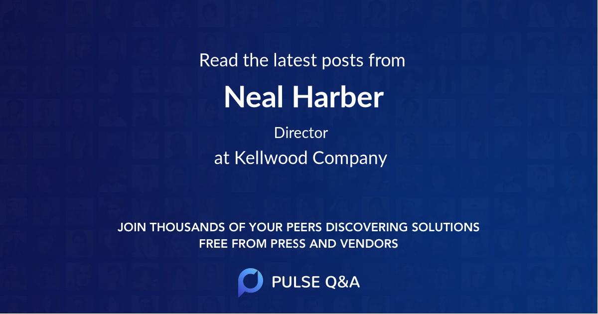 Neal Harber