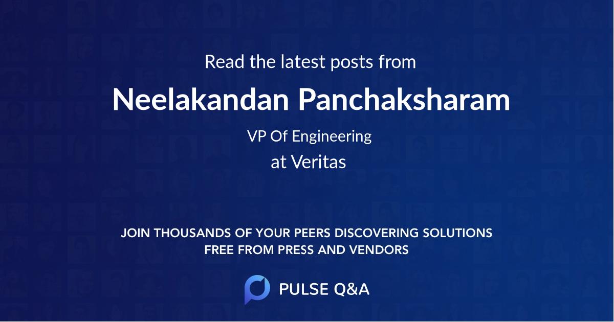 Neelakandan Panchaksharam