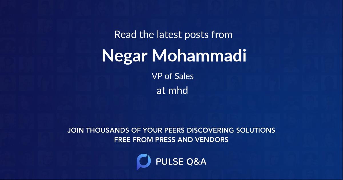 Negar Mohammadi