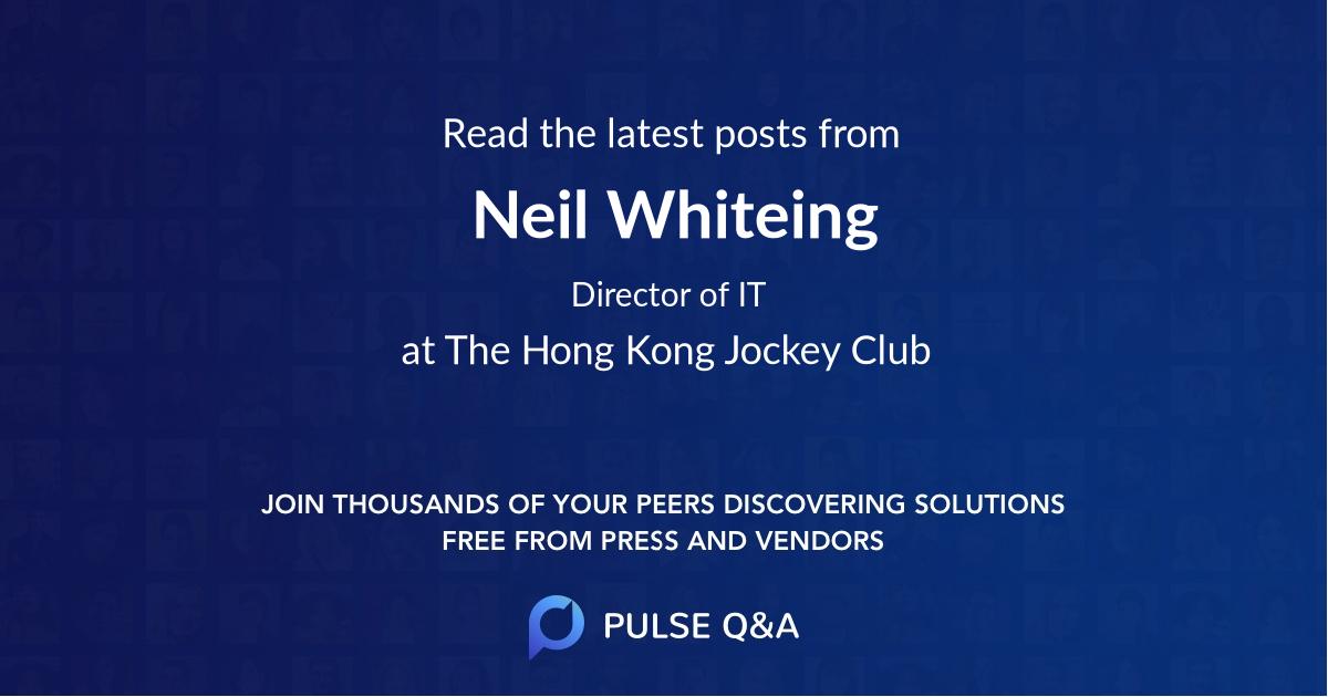 Neil Whiteing