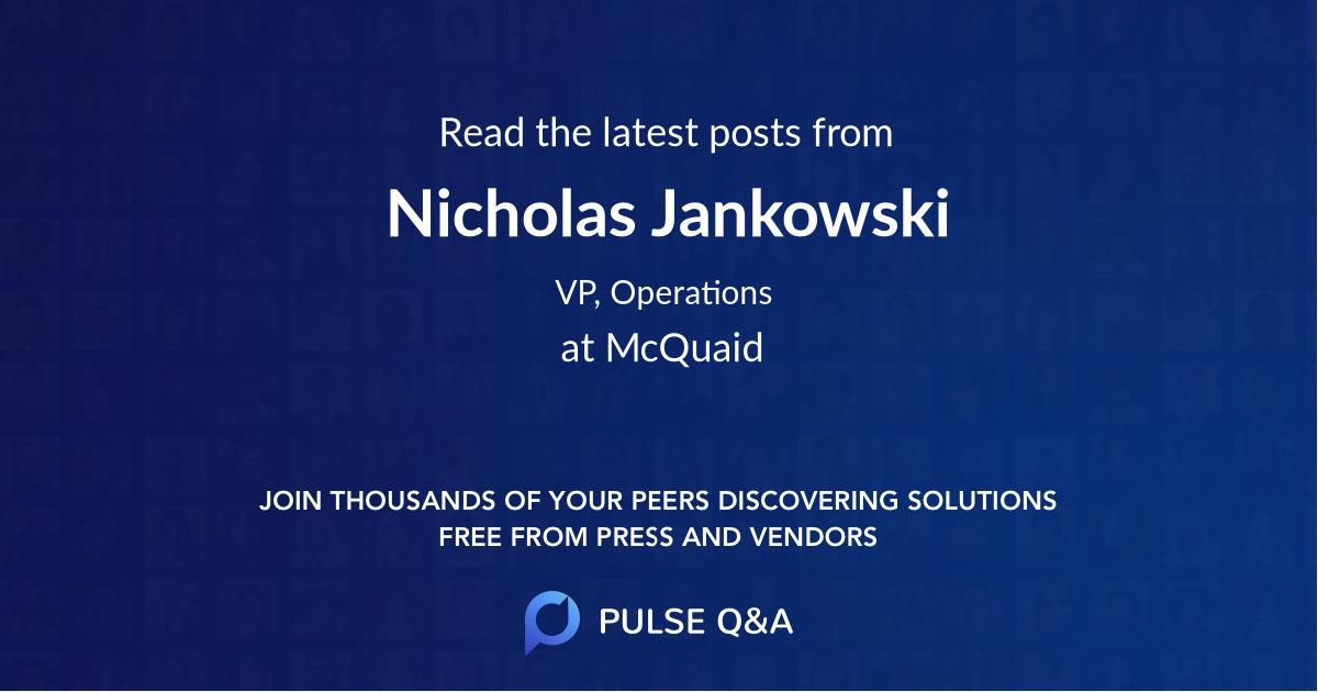 Nicholas Jankowski