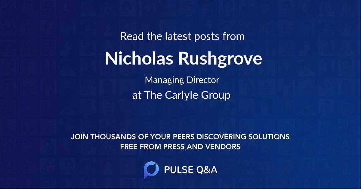 Nicholas Rushgrove