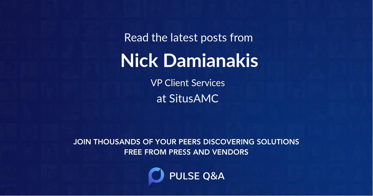 Nick Damianakis