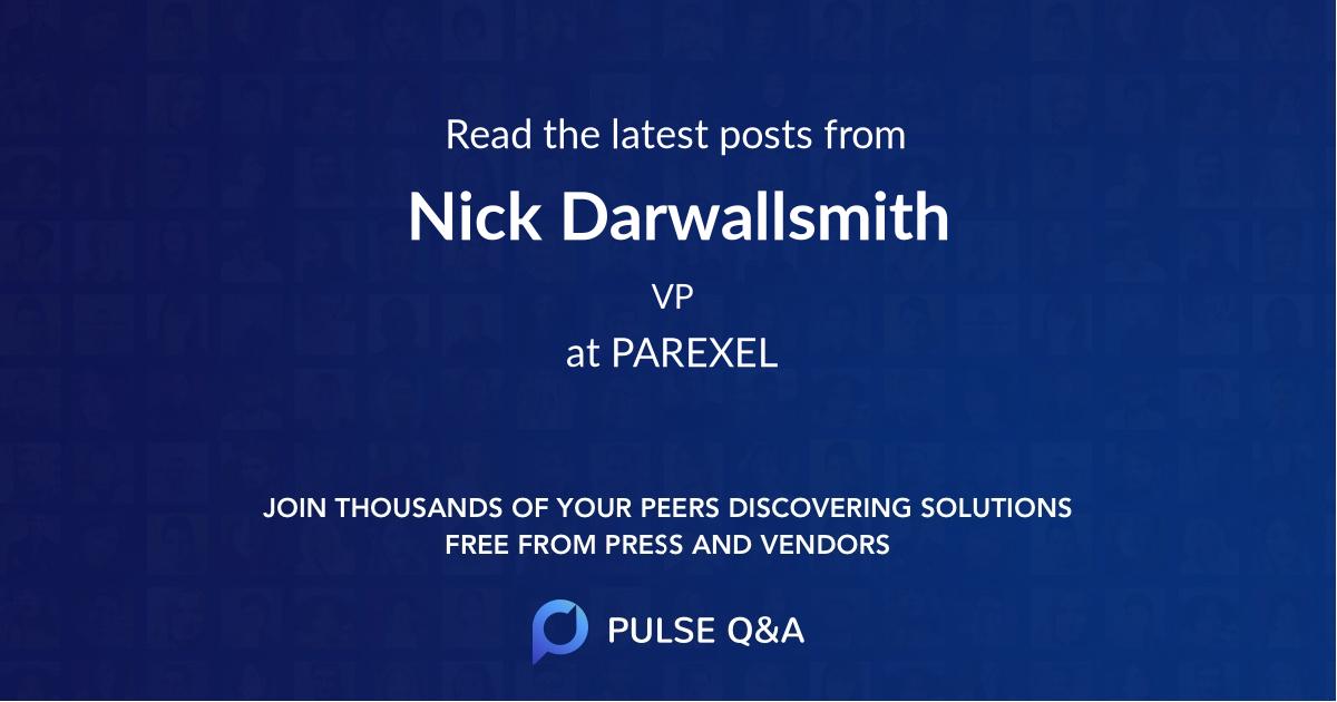 Nick Darwallsmith