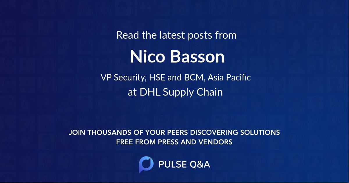 Nico Basson