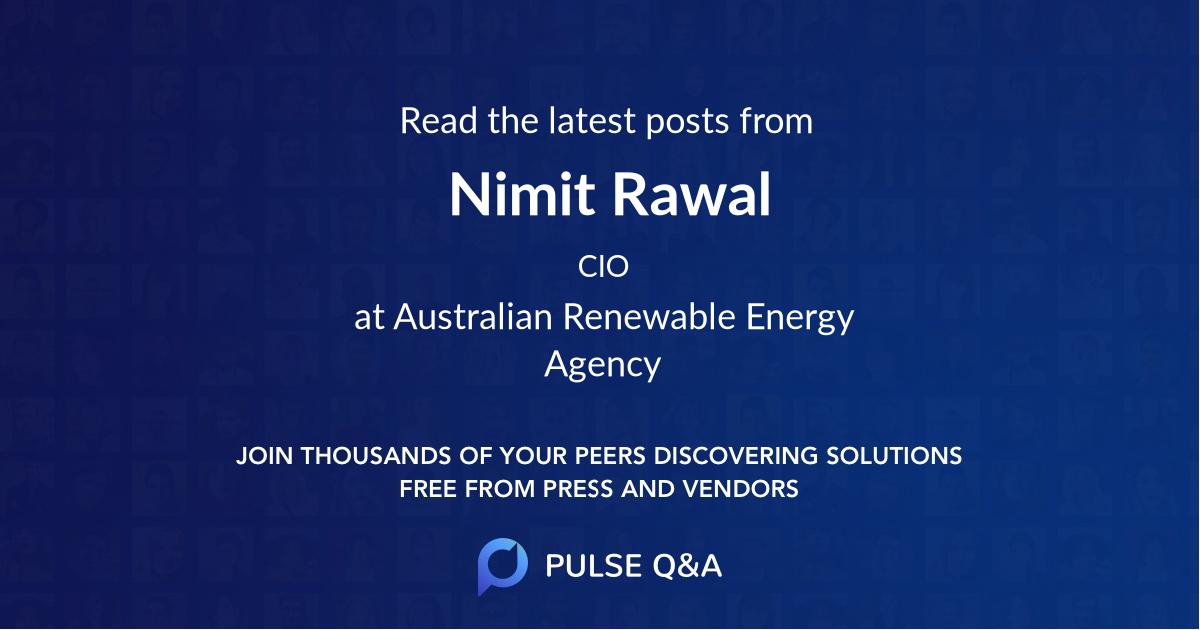 Nimit Rawal