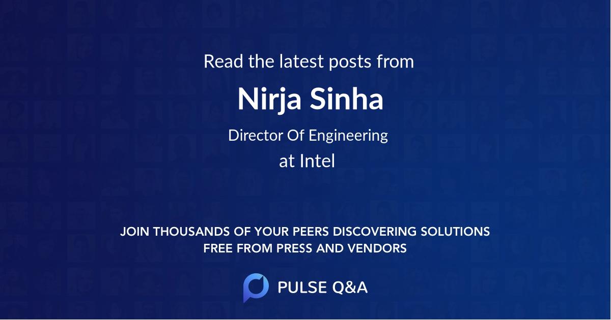 Nirja Sinha
