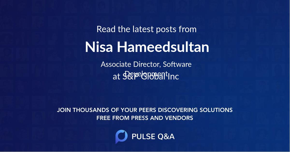 Nisa Hameedsultan