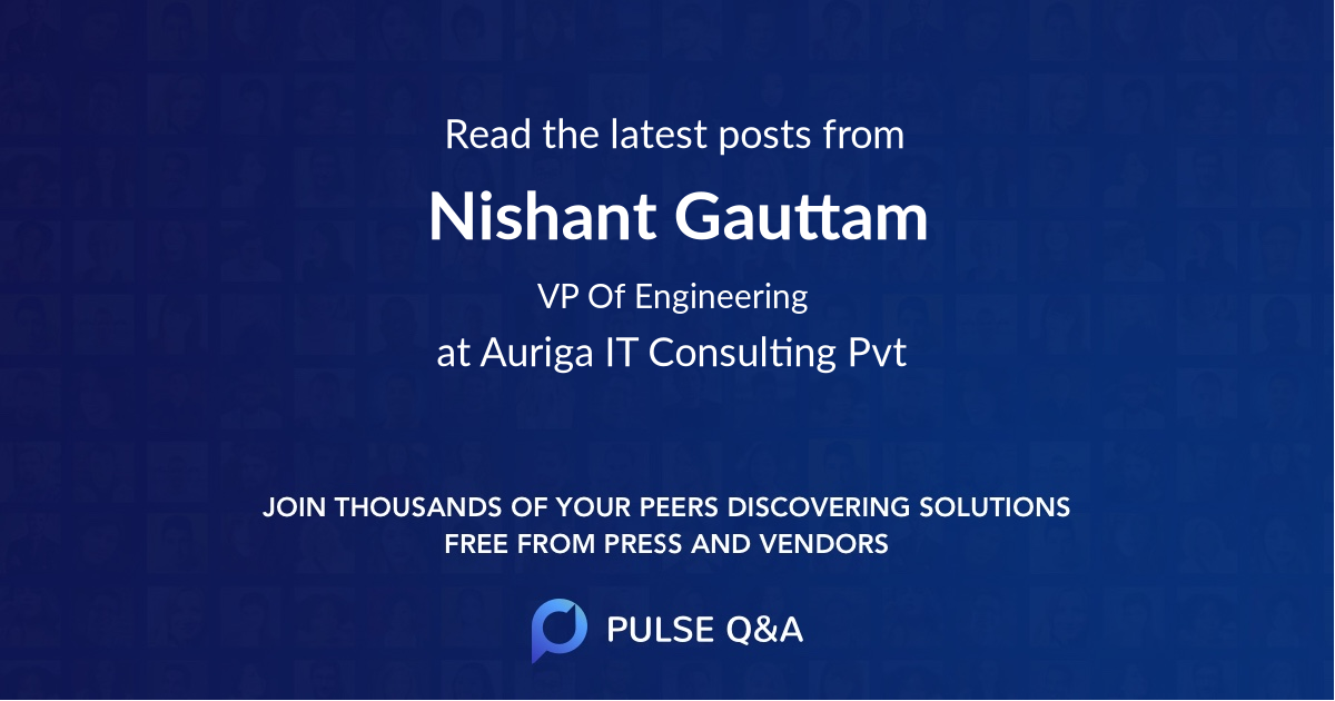 Nishant Gauttam
