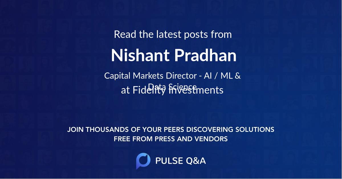 Nishant Pradhan