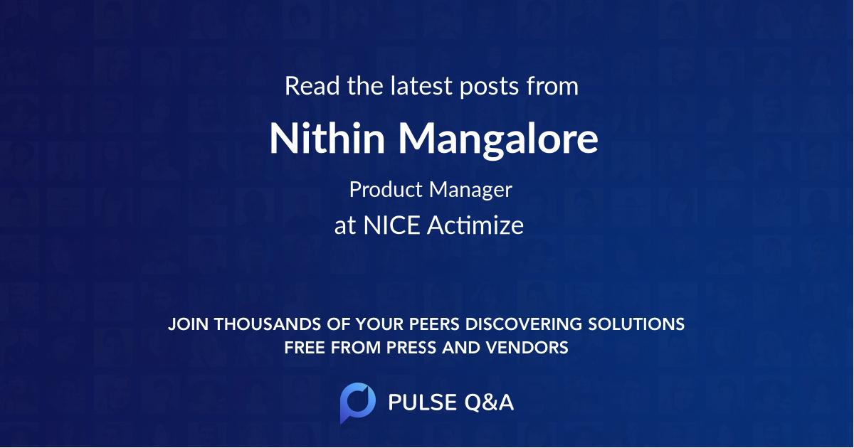 Nithin Mangalore