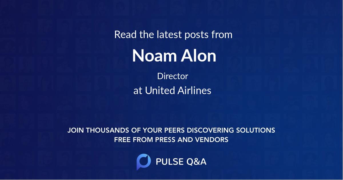 Noam Alon