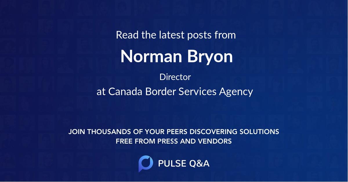 Norman Bryon