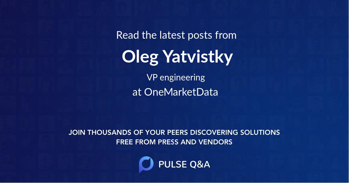Oleg Yatvistky