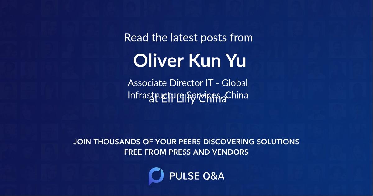 Oliver Kun Yu