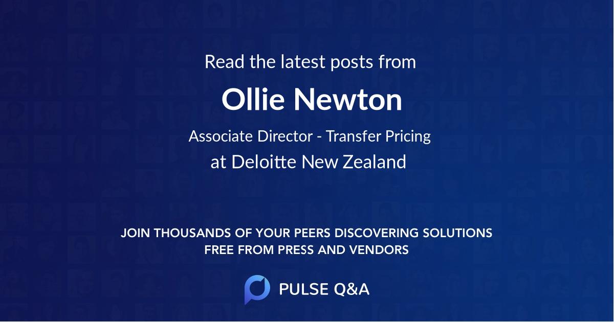 Ollie Newton