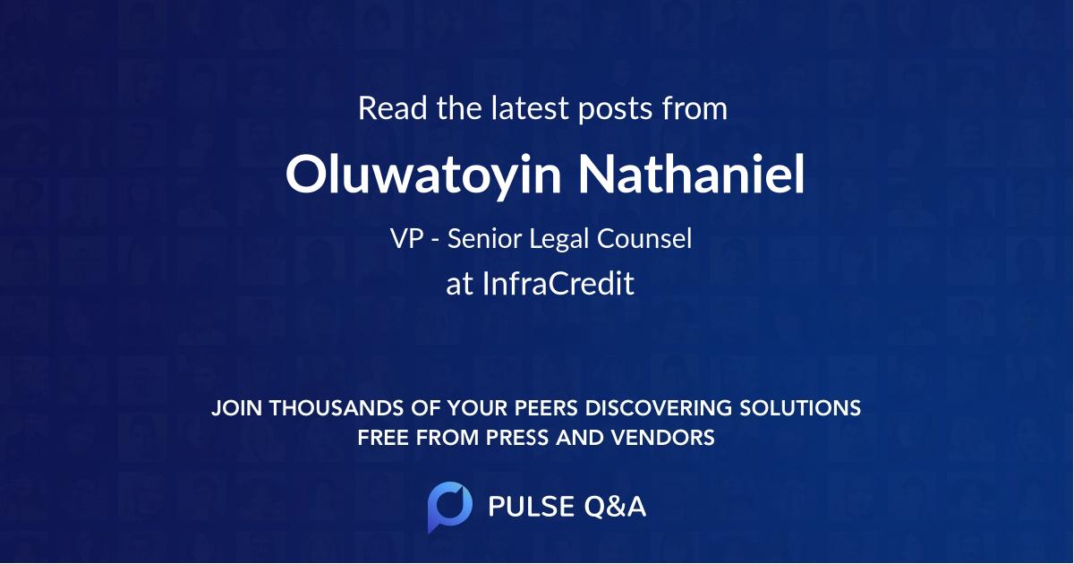 Oluwatoyin Nathaniel