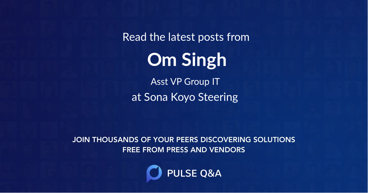 Om Singh