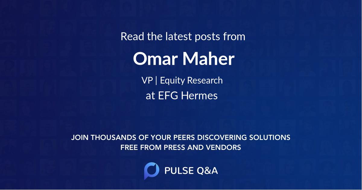 Omar Maher