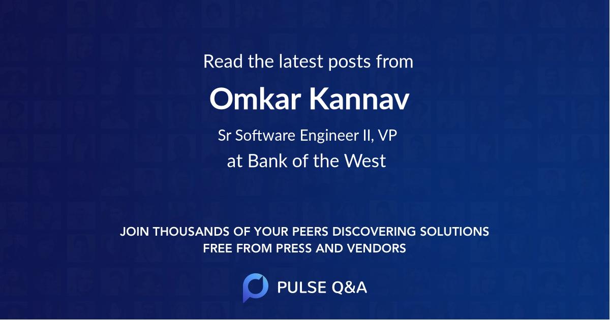 Omkar Kannav