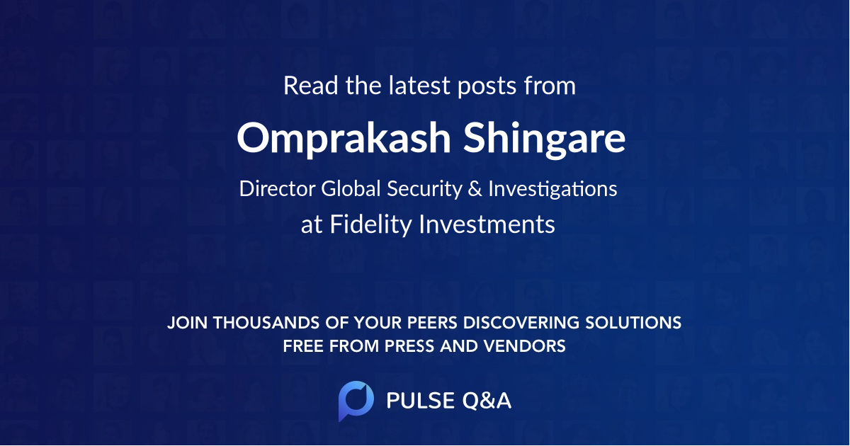 Omprakash Shingare