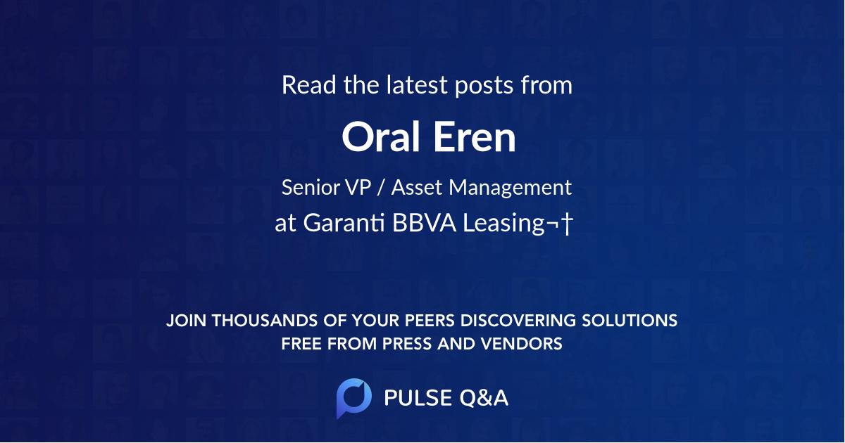 Oral Eren