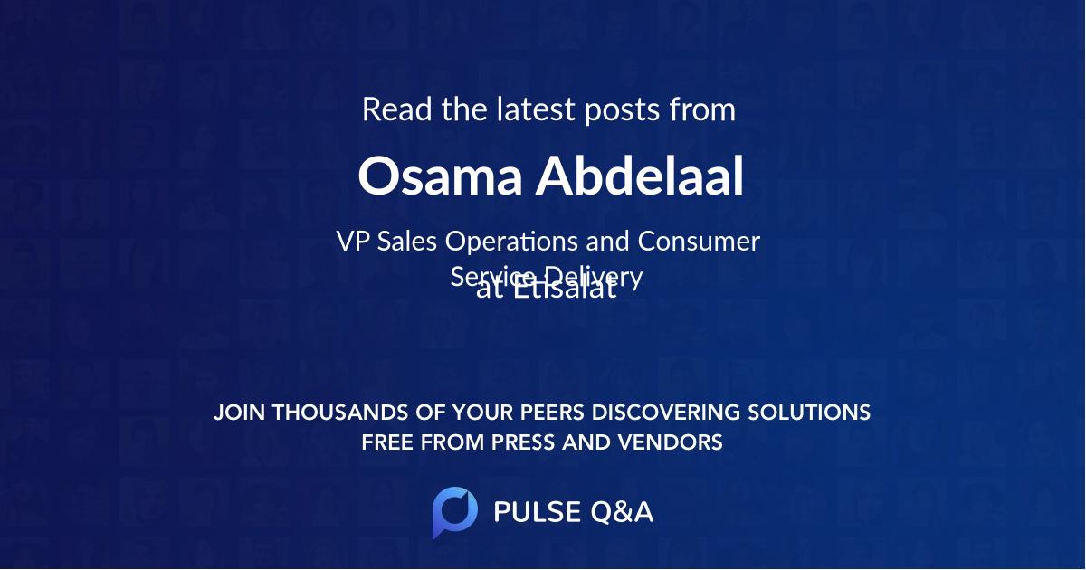 Osama Abdelaal