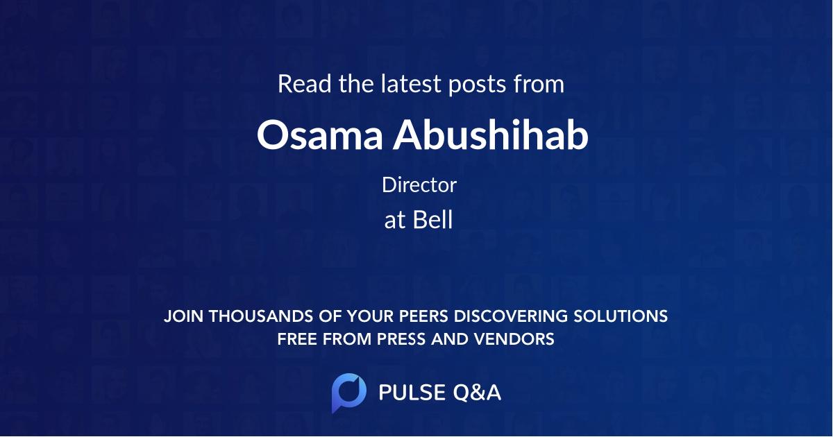 Osama Abushihab