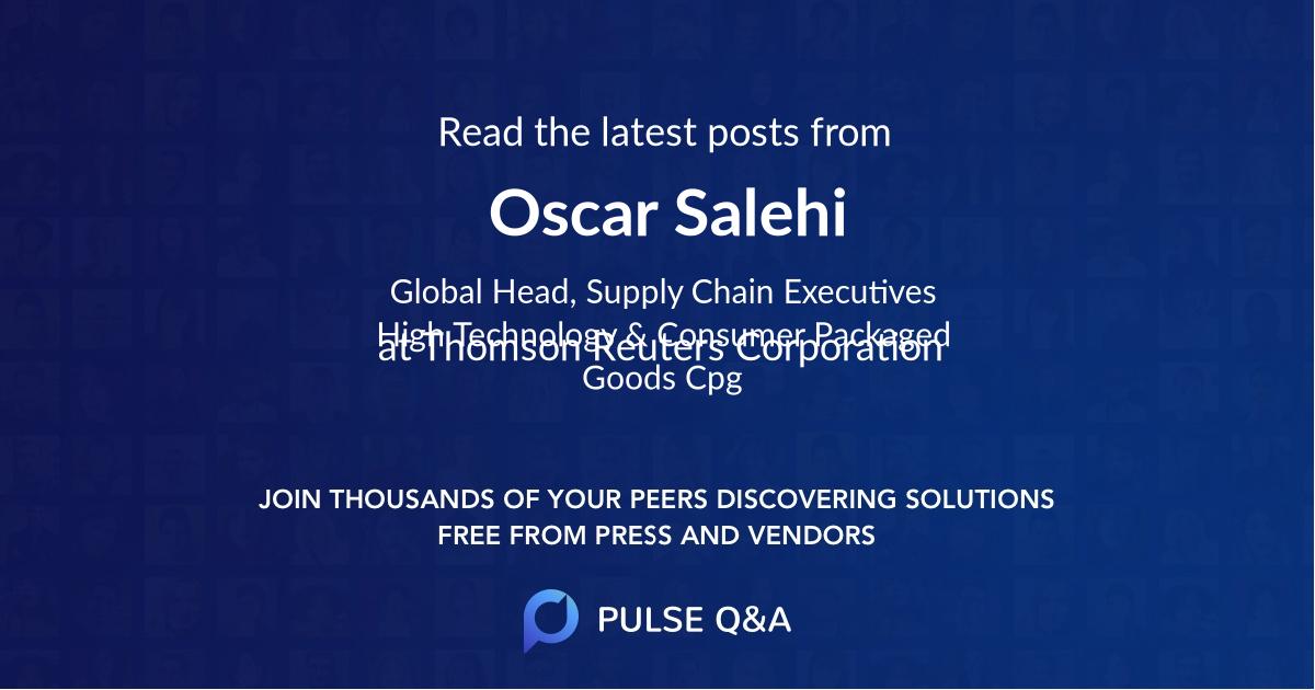 Oscar Salehi
