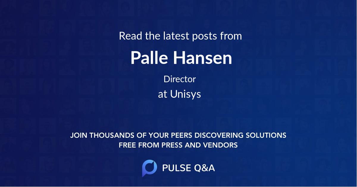 Palle Hansen