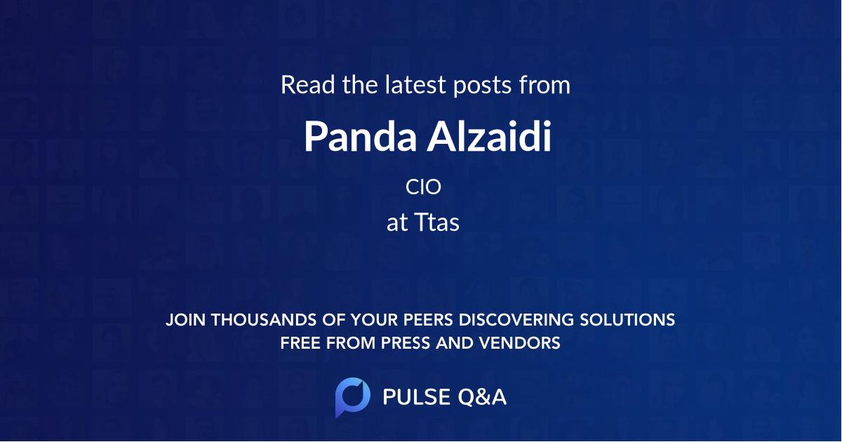 Panda Alzaidi