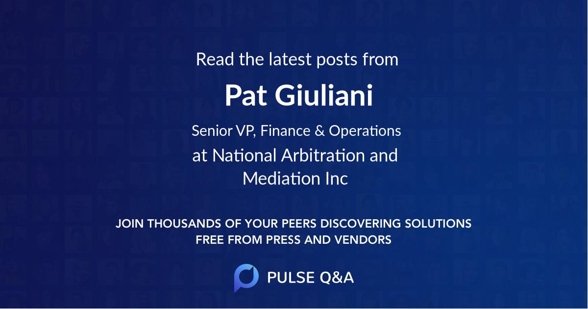 Pat Giuliani