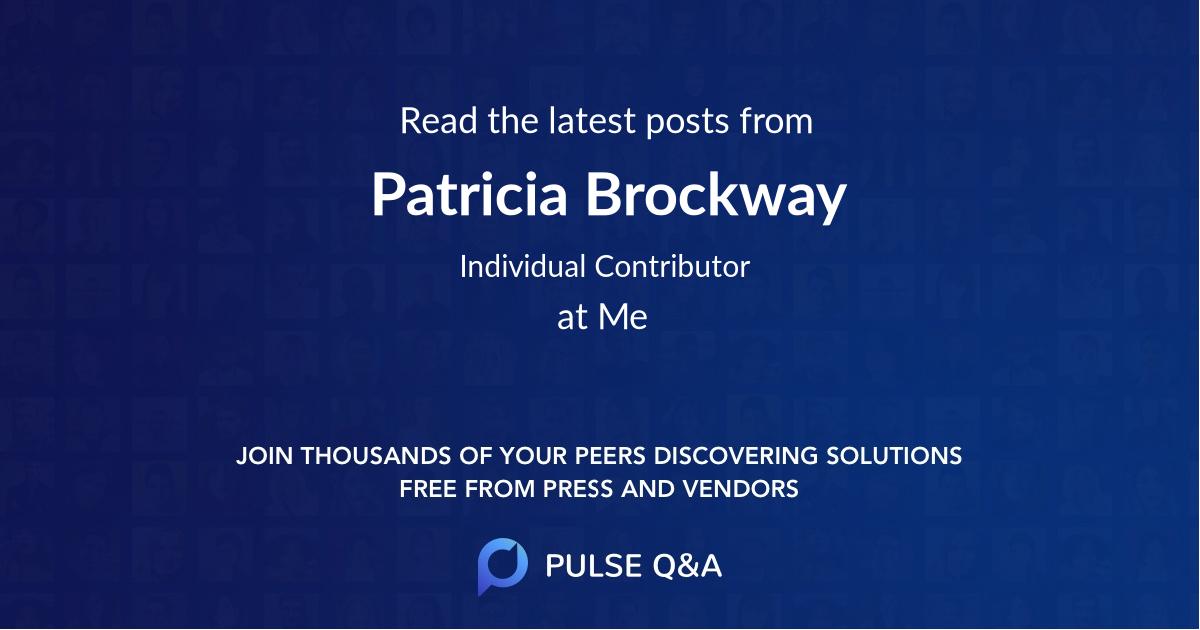 Patricia Brockway