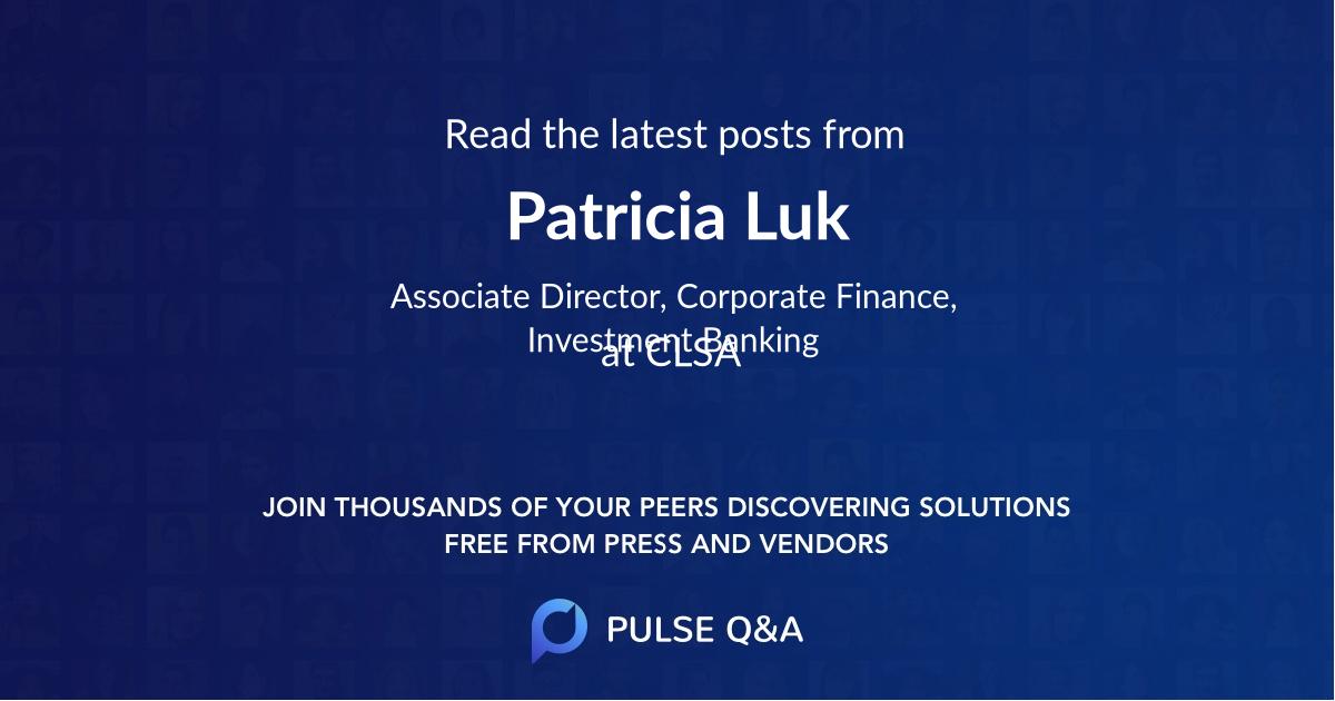 Patricia Luk