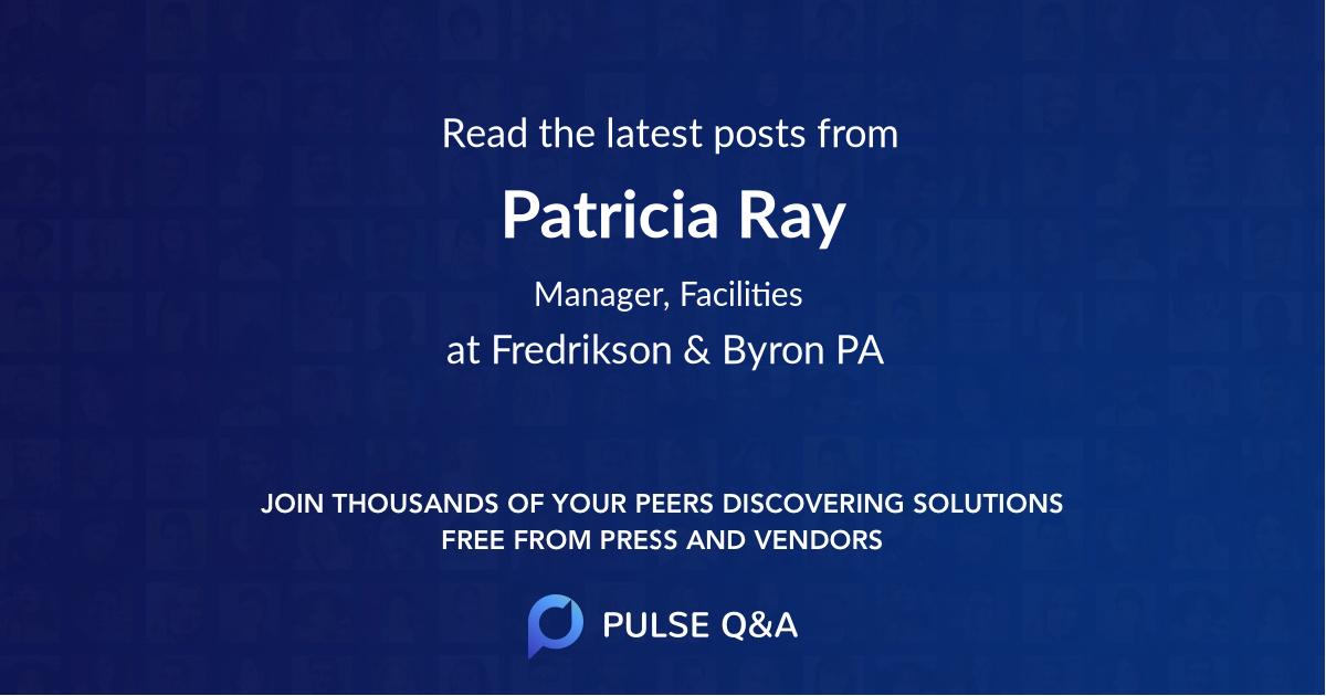 Patricia Ray