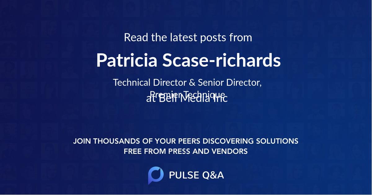 Patricia Scase-richards