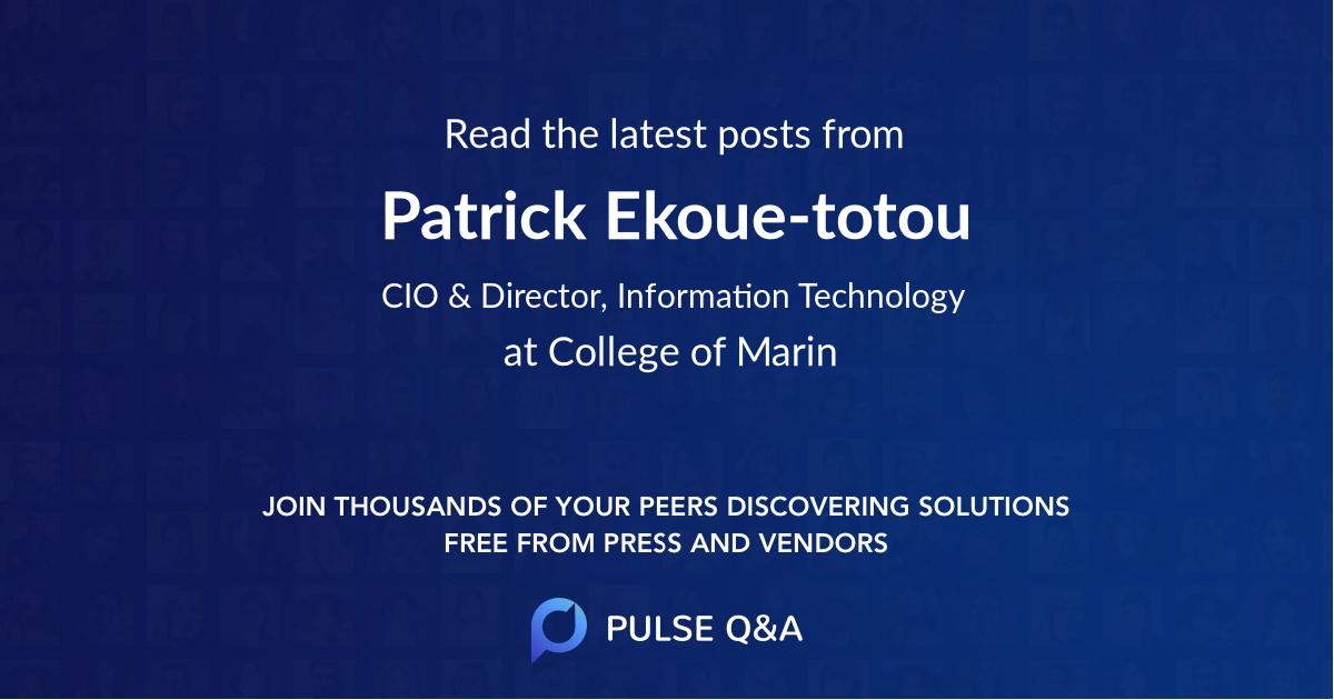 Patrick Ekoue-totou