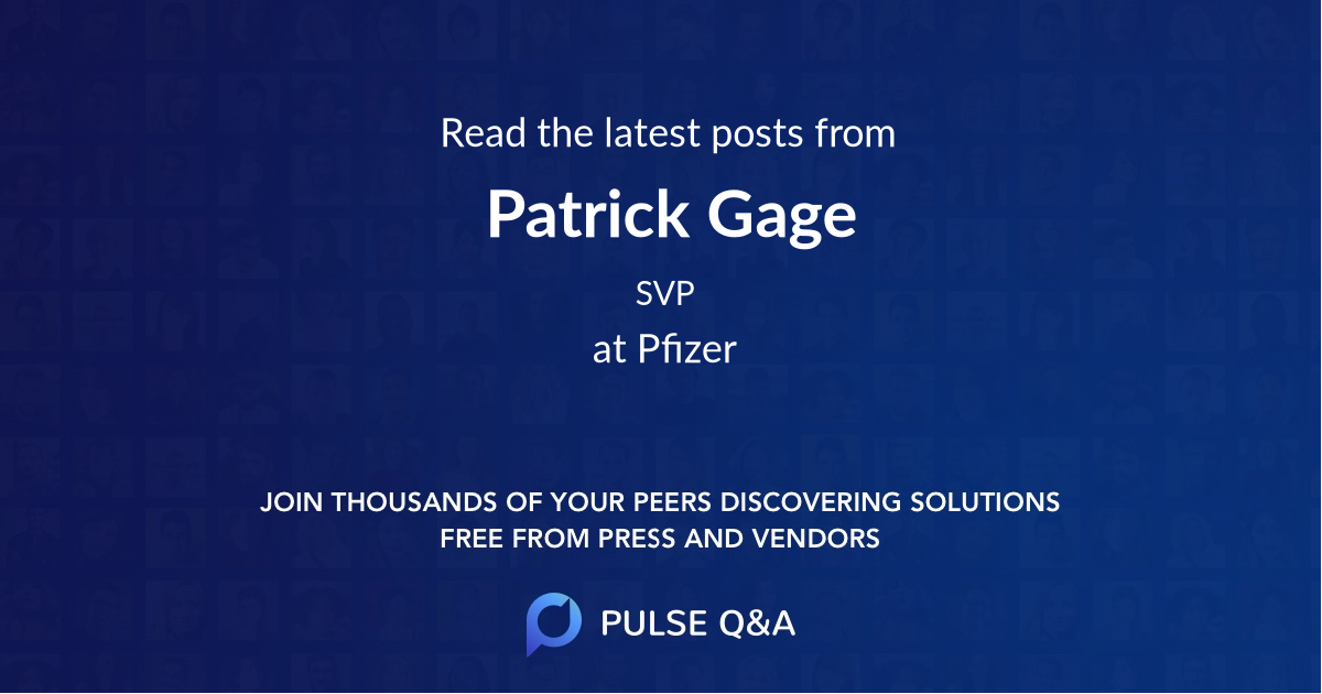 Patrick Gage