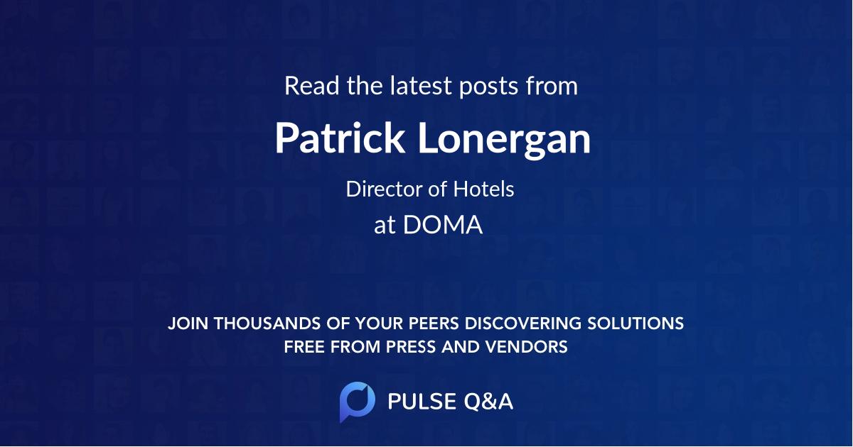 Patrick Lonergan