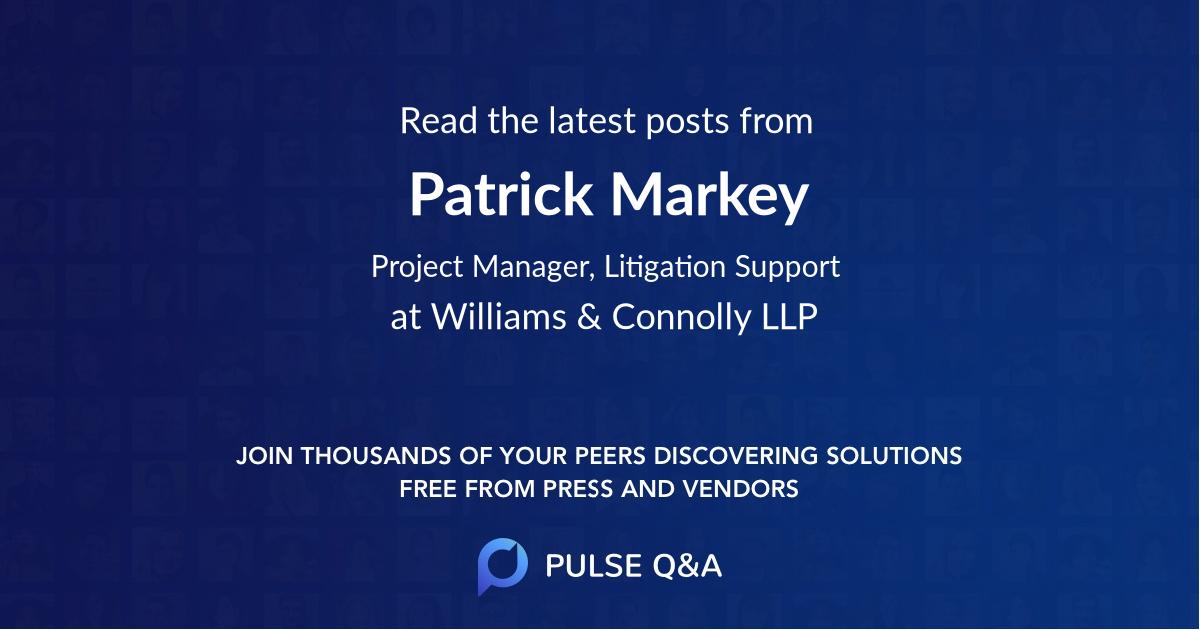 Patrick Markey