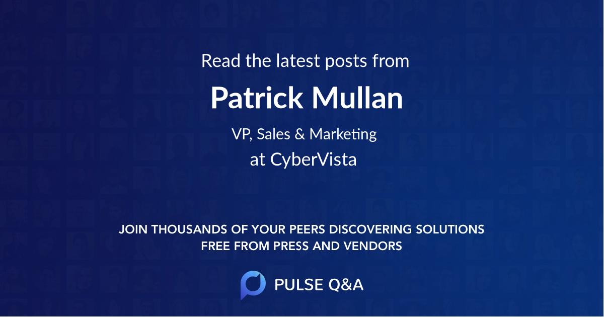 Patrick Mullan