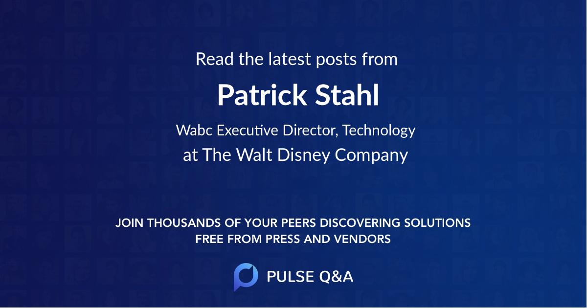 Patrick Stahl