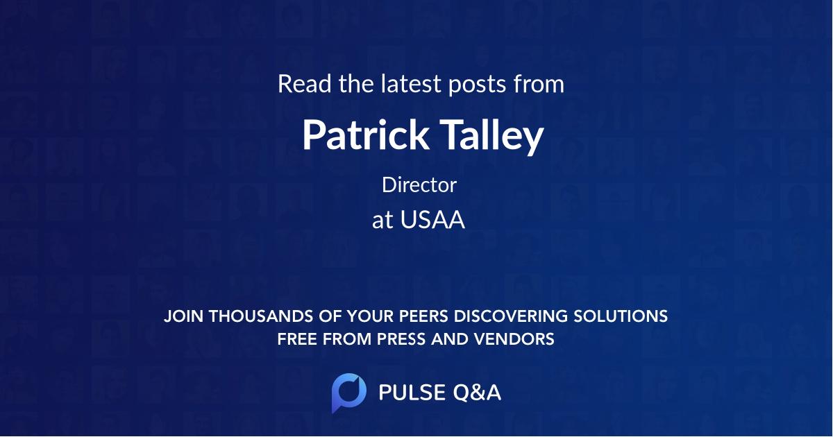 Patrick Talley
