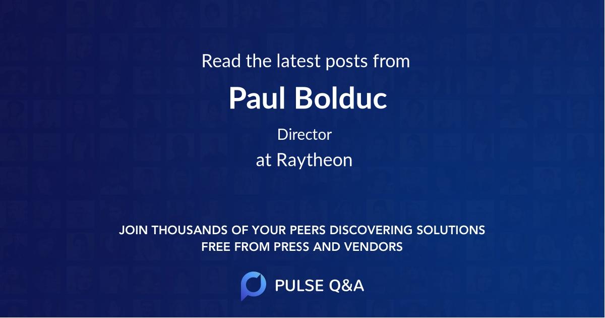 Paul Bolduc