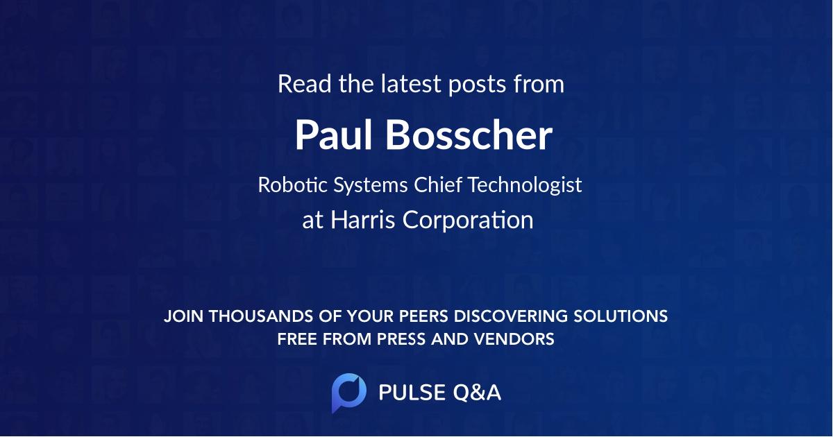Paul Bosscher