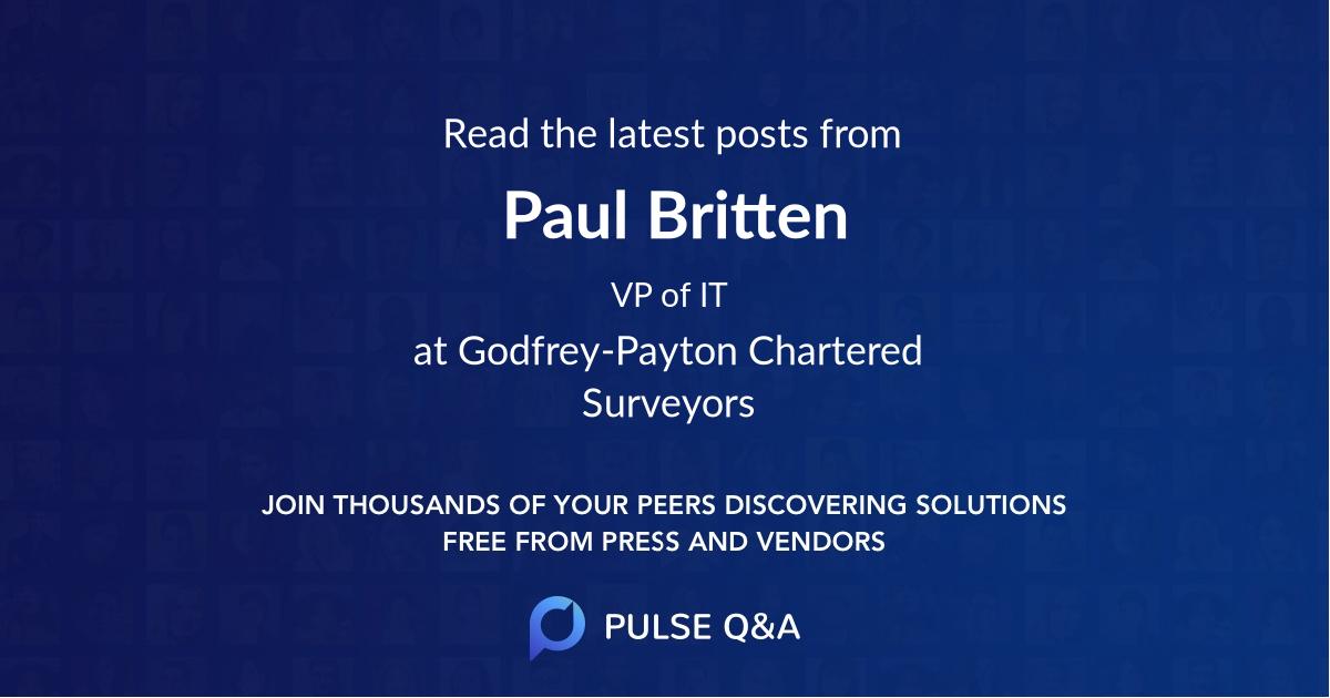 Paul Britten