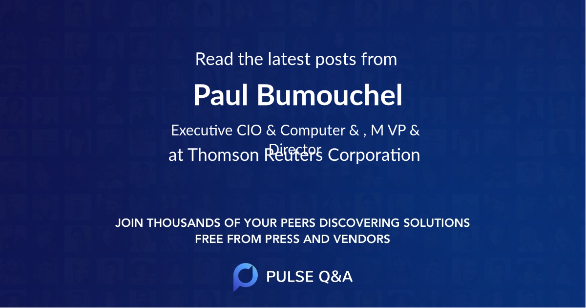 Paul Bumouchel