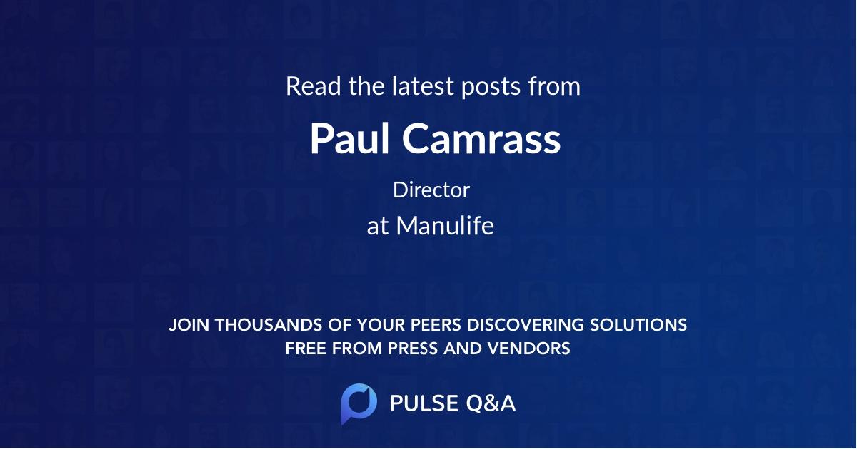Paul Camrass